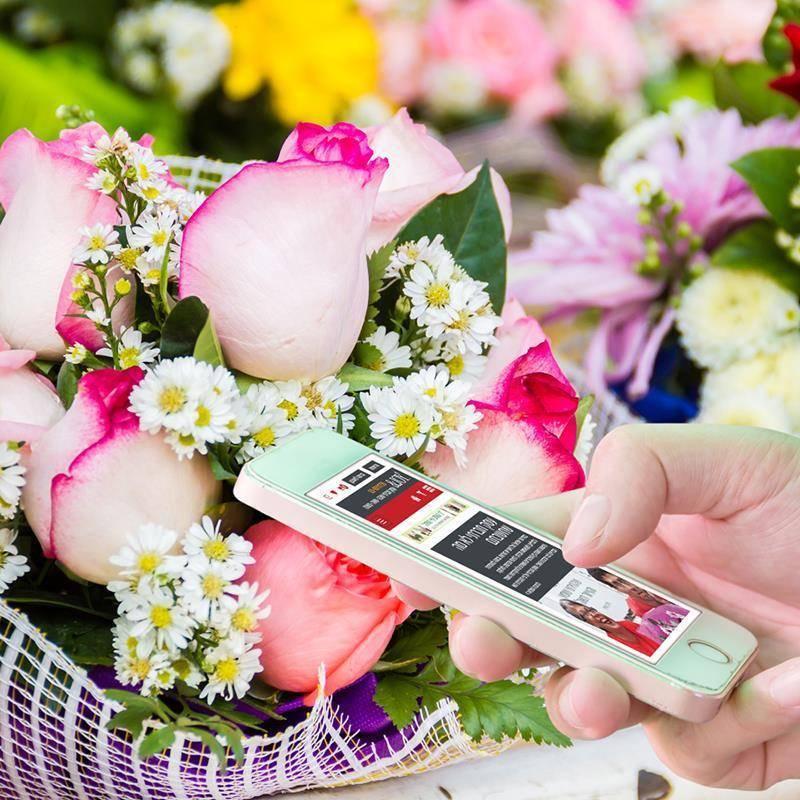 היתרון שבהזמנת זרי פרחים דרך האינטרנט