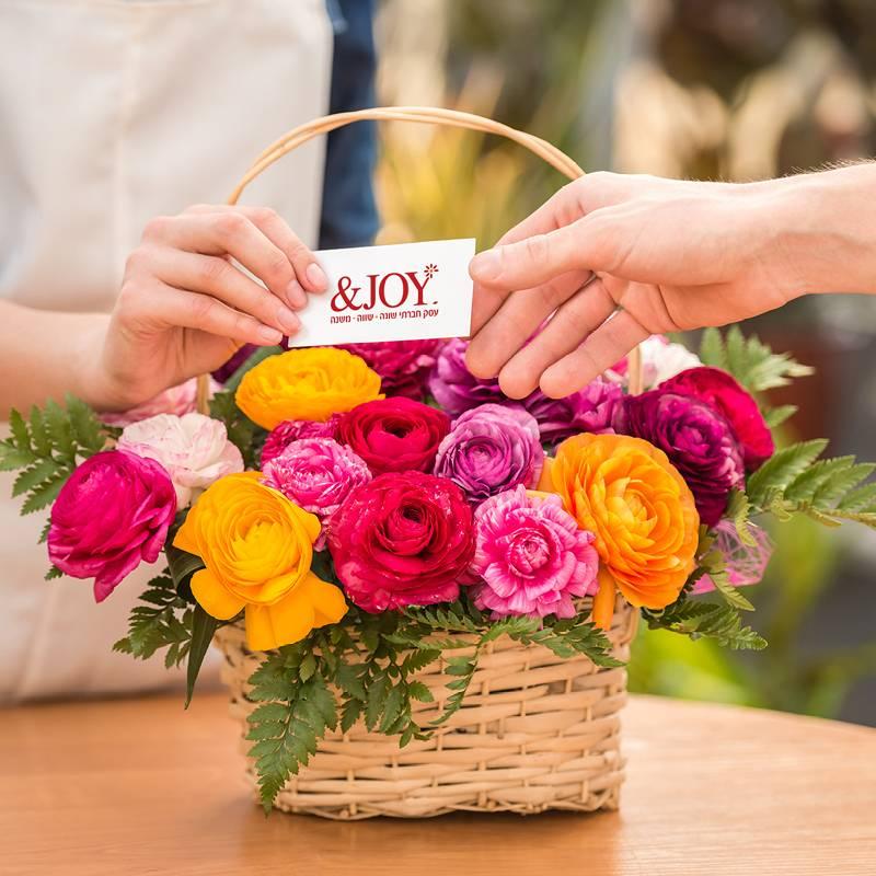 משלוח זר פרחים ליום האהבה