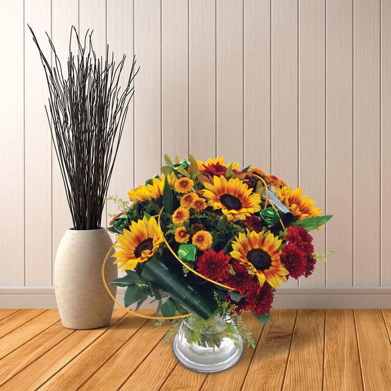 משלוחי פרחים בשילוב ממתקים