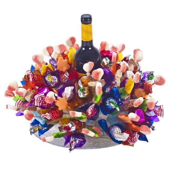 התמונה הראשית של ממלכת הממתקים +יין