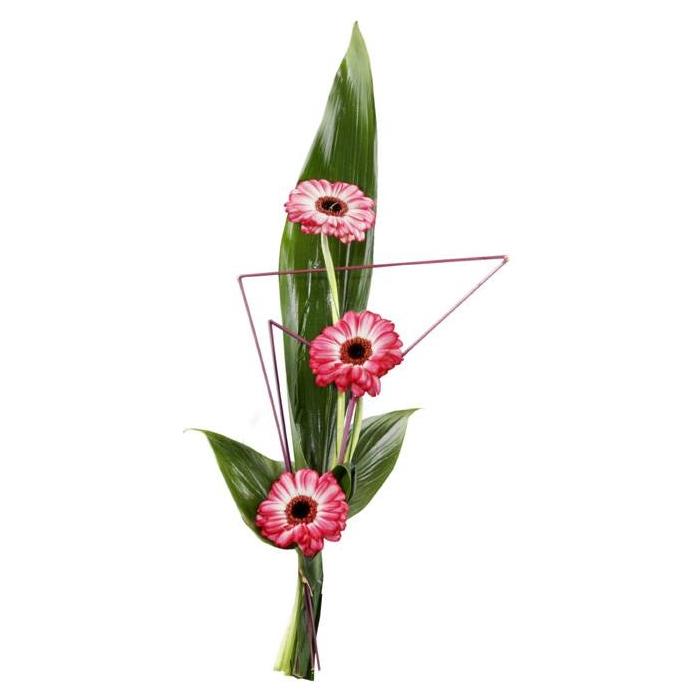התמונה הראשית של זר פרחים אישי- גרברות מעוצב