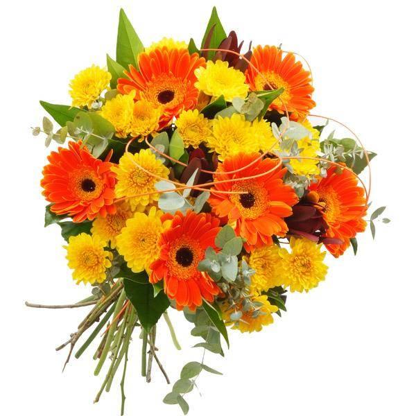 התמונה הראשית של זר פרחים - הנאה