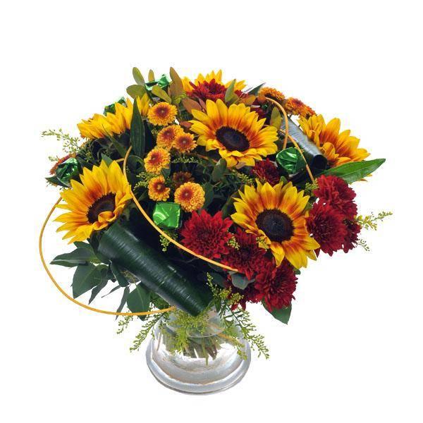 התמונה הראשית של זר פרחים - שדה מתוק