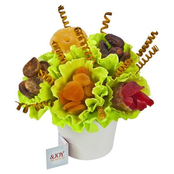 התמונה הראשית של סידור פירות יבשים בכלי קרמיקה