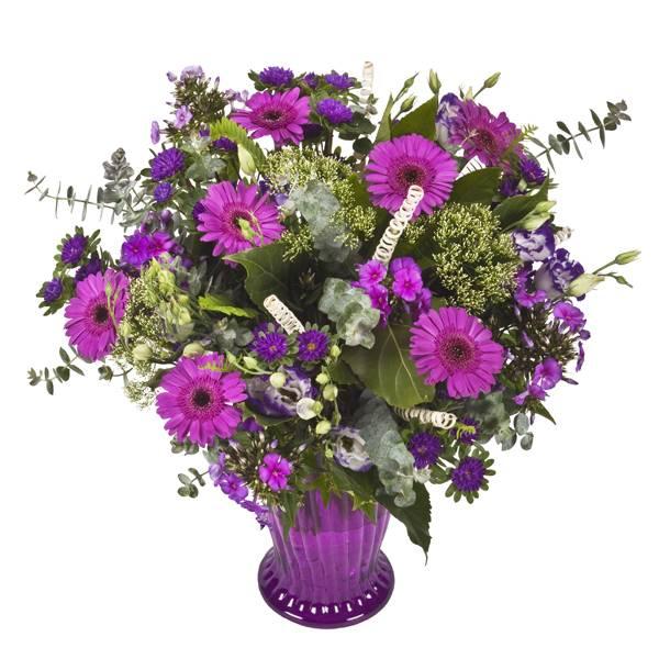 התמונה הראשית של זר פרחים חיוכים
