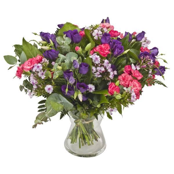 התמונה הראשית של זר פרחים - פינוק ורוד
