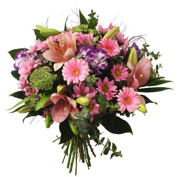 התמונה הראשית של זר פרחים - חיבוקים
