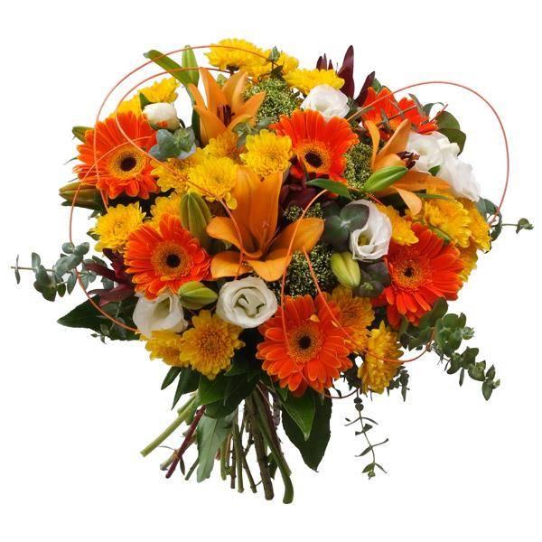 התמונה הראשית של זר פרחים - שמחה