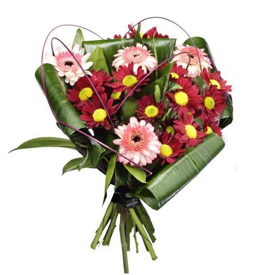 התמונה הראשית של זר פרחים אישי גרברות