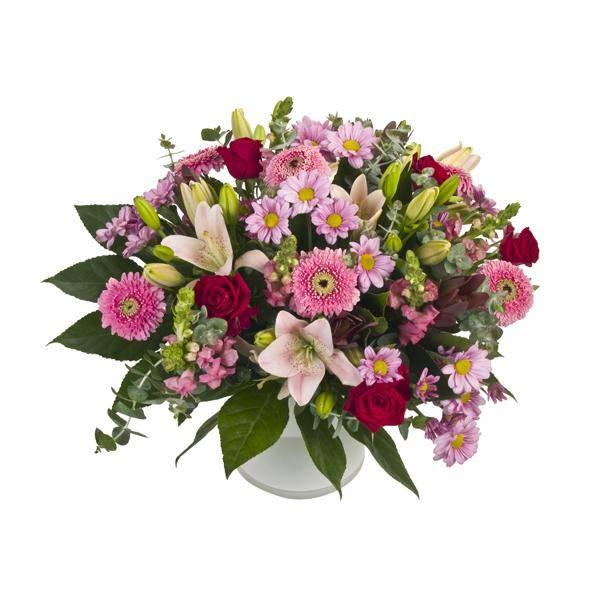 התמונה הראשית של זר פרחים - רומנטיקה