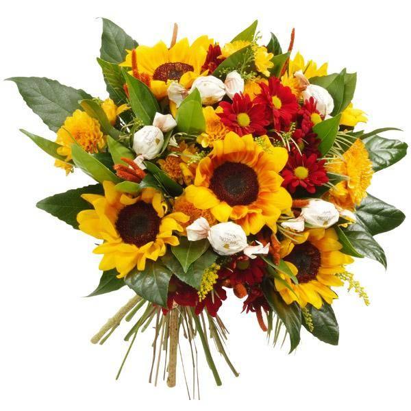 התמונה הראשית של זר פרחים - מתוקים בכפר