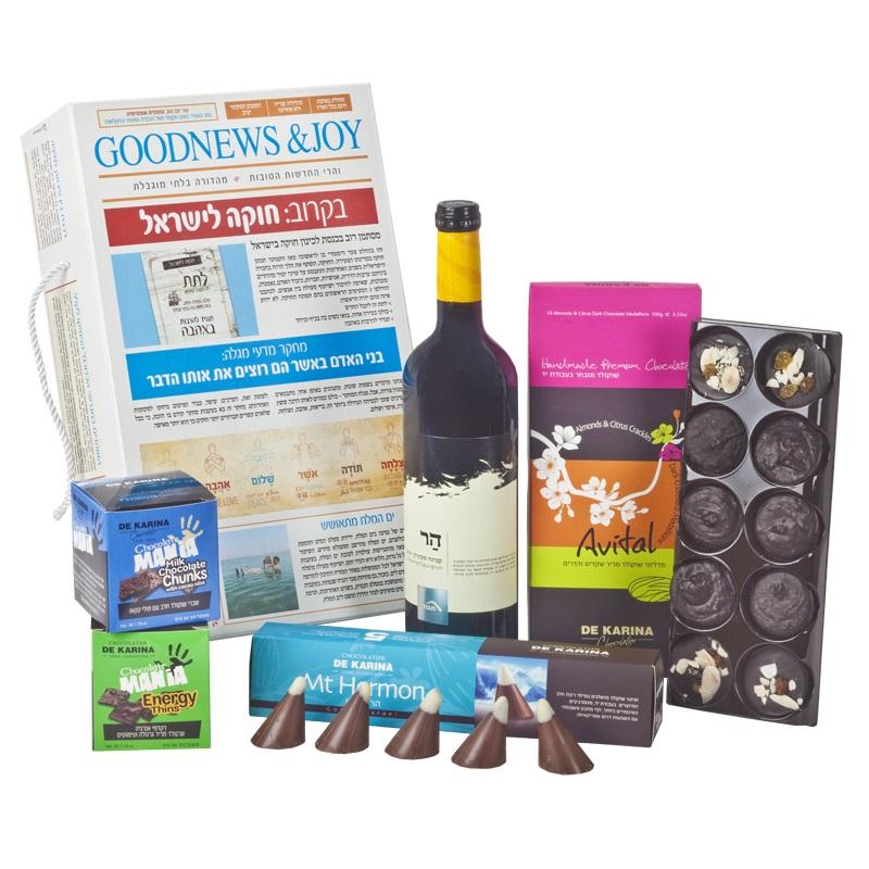 התמונה הראשית של חדשות טובות של שוקולד ויין