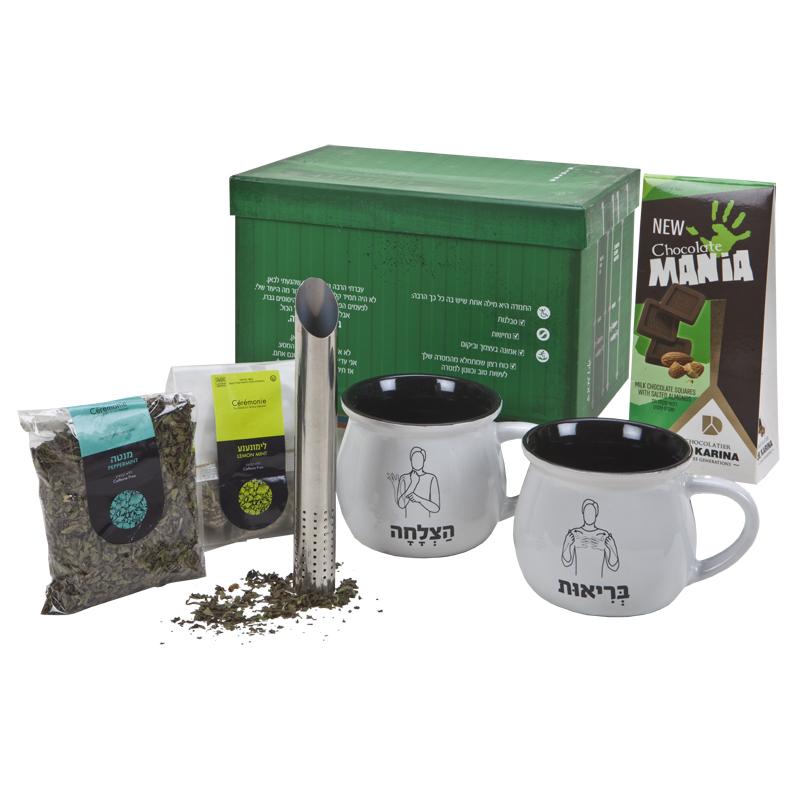 התמונה הראשית של פינוקי תה במכולה - גדול