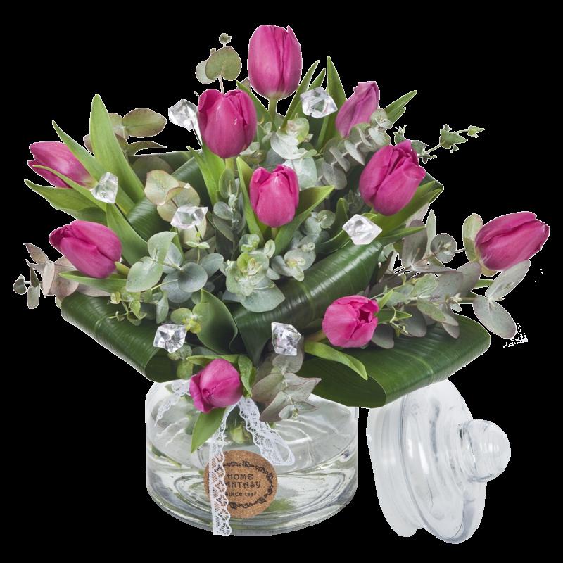 התמונה הראשית של זר פרחים - חורף רומנטי