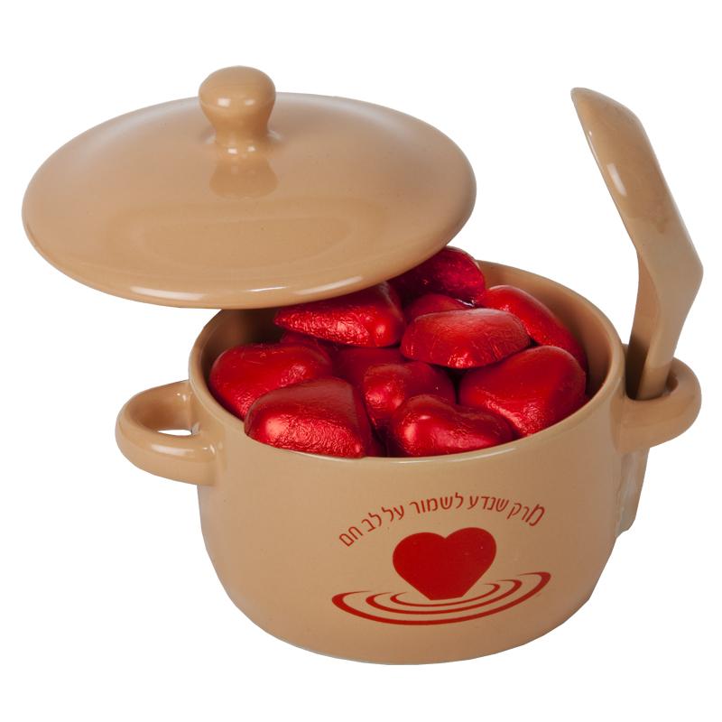 התמונה הראשית של לבבות שוקולד במרקית