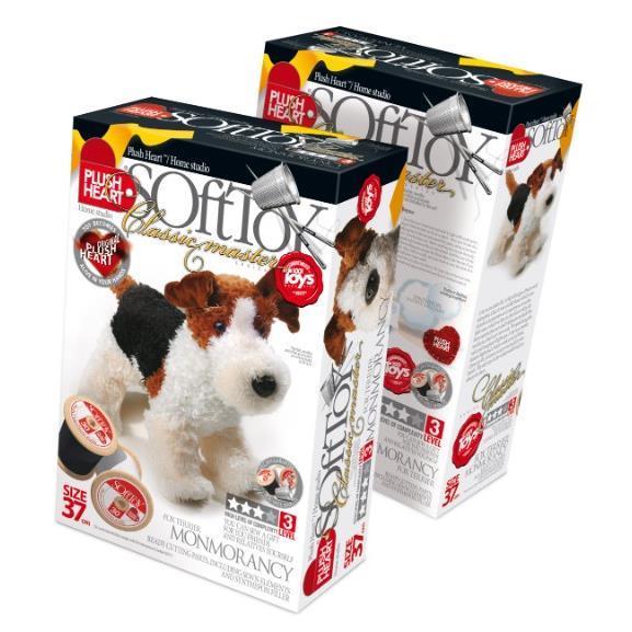 התמונה הראשית של מונטי הכלב ערכת תפירה לילדים