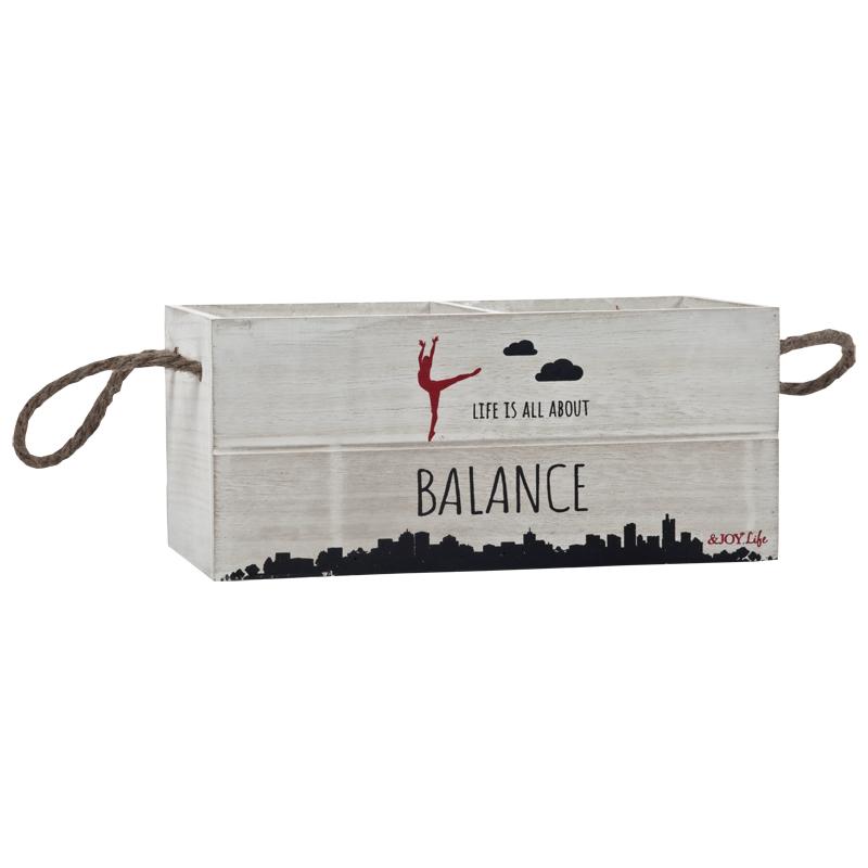התמונה הראשית של אדנית עץ BALANCE - הדפס רקדנית