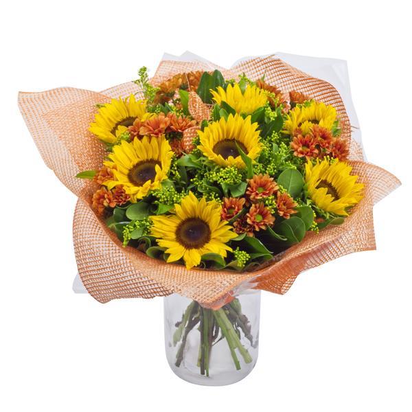 התמונה הראשית של זר פרחים - חגיגה בכפר