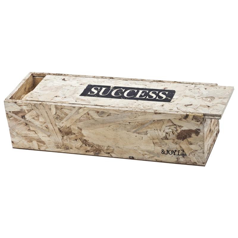 התמונה הראשית של הצלחה- קופסת עץ מיוחדת (ריק)