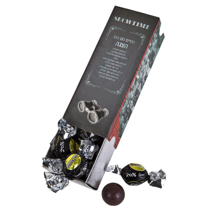 התמונה הראשית של החיים הם כמו פרליני שוקולד מריר