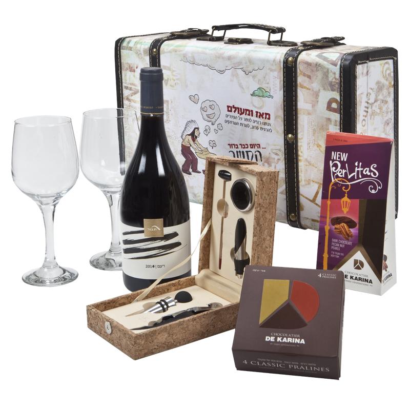 התמונה הראשית של יין אדמה ושוקולד הררי