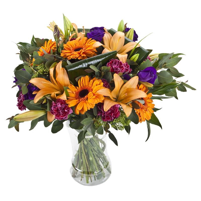 התמונה הראשית של זר פרחים - הרמוניה בכלי