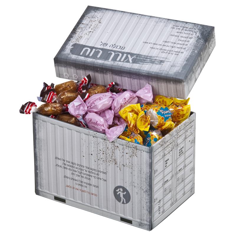 התמונה הראשית של מכולה של סוכריות חג