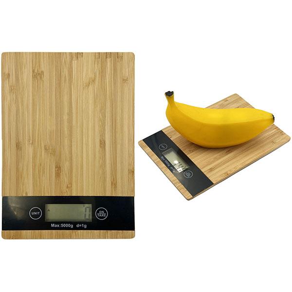 התמונה הראשית של משקל מעוצב דיגיטלי למטבח עשוי במבוק