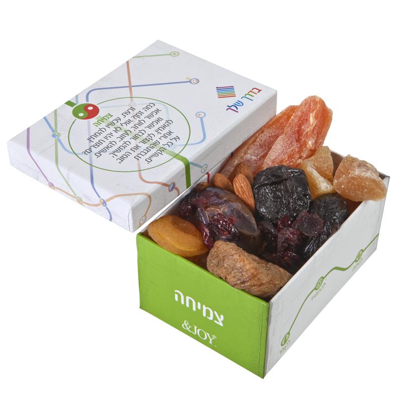 התמונה הראשית של פירות יבשים במארז צמיחה