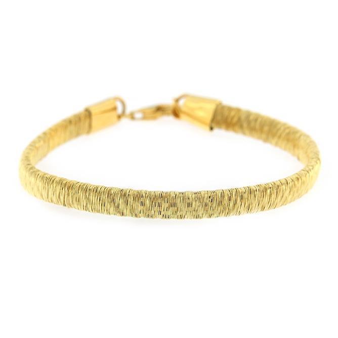 התמונה הראשית של צמיד ג'ימה בצבע זהב - מג'מריה