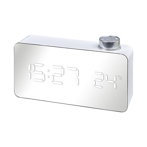 התמונה הראשית של שעון שולחני דיגיטלי LED עם כפתור הפעלה מהירה