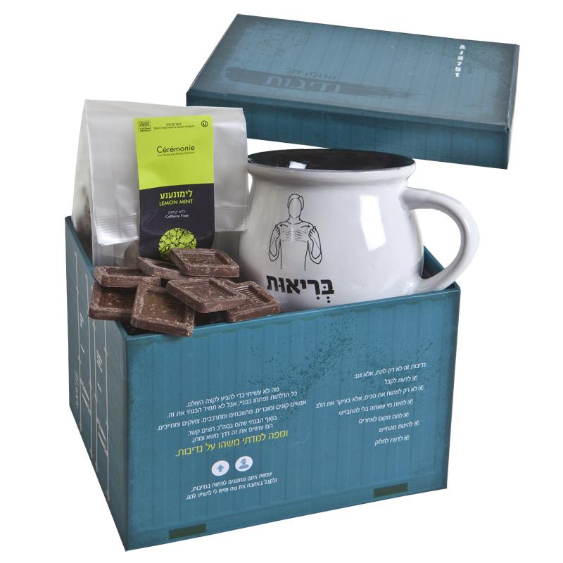 התמונה הראשית של פינוקי תה במכולה - בינוני