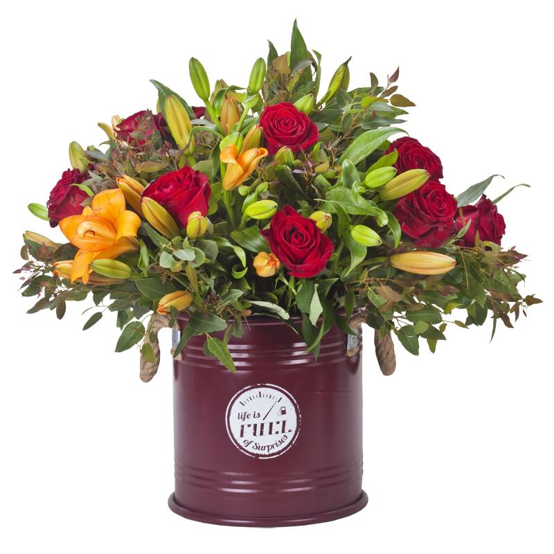התמונה הראשית של זר פרחים - אקזוטי עם משמעות
