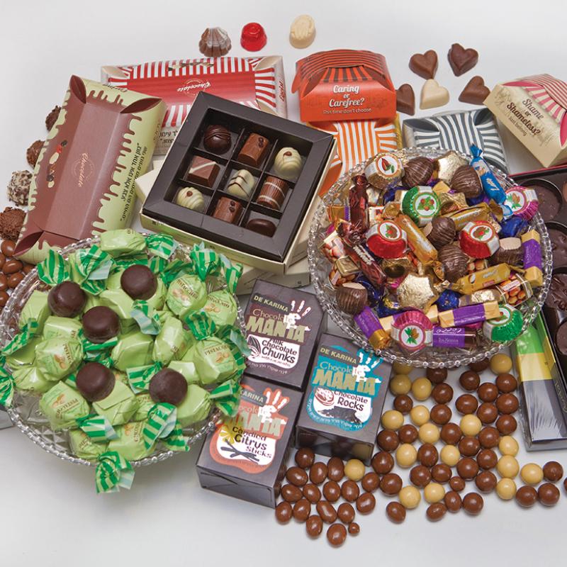 מארזי שוקולד קבוצתיים